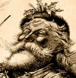 Thomas Nast iconic depiction of Santa Claus (1881)